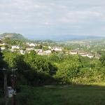 View of Merlin's Hill & Towy Valley
