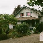 the Swan home-notice the upsairs window