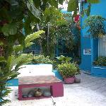 Las Anclas Courtyard