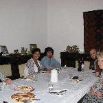 Dinner night with family and guests