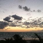 sun up by the beach