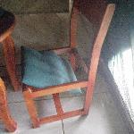 Stuhl im Zelt