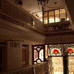 Haupthalle in 3 Ebenen