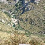 Cava Grande, de haut
