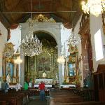 Keine herausragende Ausstattung des Andachtsraumes und Altars
