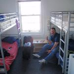 our room. if your on the street it is the second foorl on the right. these slept six (only had 4