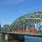 dal ponte della ferrovia