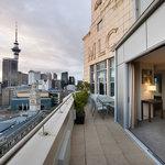 Scenic Hotel Auckland Penthouse Balcony