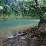 Beautiful crystal clear swimming holes