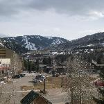 Beaver Creek Ski Resort view from room (15-30 min away by bus or gondola)