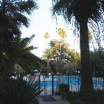 Garten Best Western crystal Palace