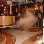 Centro della sala ristorante