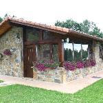 Txoko (cocina) en Casa Rural Lurdeia