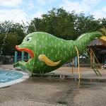 Slide at Kid's Pool