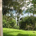 View of Lake Arenal from our casita