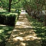 A one mile walking or jogging trail winds through campus.