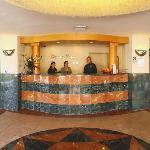 Ocean Park Inn front desk