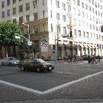 Corner of Los Angelest & 9th Streets