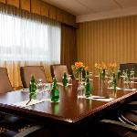 Comfortable Boardroom seeting upgraded with highback chairs