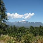 Vista Volcan Villarrica