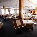 The dining room at the Norfolk Hotel
