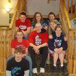 Our fantastic kids at the hotel!