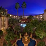 The Courtyard at the Embassy Suites Phoenix-Airport at 24th Street