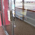 Front Door Padlocked