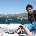 The boys loved the sail...