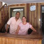 Giovanny and Zelmira, the owners