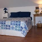 Queen Bed with fine linens