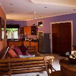 Villa Kamboja Living Room