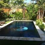 Your own Private Pool :) Was fantastic :)