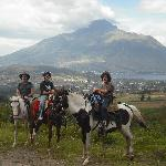 Horseriding trips are a great way to see the beautiful countryside round Rose Cottage