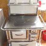 Granny's wood stove