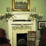 Charming Parlor - A Common Gathering Place for Guests