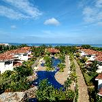 Una vista general del hotel