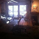 The Gant - kitchen & living room