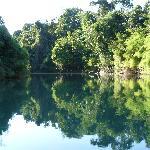 En vedette sur le rio lancantun