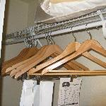 Plenty of hangers