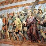 Terracotta beeldengroep uit de Kruisweg