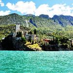 Malcesine Castle from the Lake