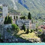 Another View of Malcesine Castle