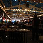 Pier dining