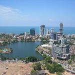 View of Colombo from our room
