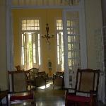 il salotto con veranda