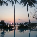 Sunset from Island Club Pool