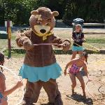 Hula Hooping with Cindy Bear