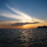 sunset aboard sea bird