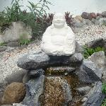 Little garden Buddha